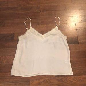 White/Cream Lace BP Camisole